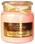 Baby Powder - Pink - Traditional - Soy Jar Candle - 18 oz