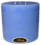 Baby Powder - Blue - Pillar Candle - 6x6