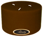 Caramel Toffee - Pillar Candle - 6x3