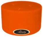 Florida Orange - Pillar Candle - 6x3