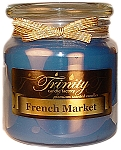French Market - Traditional - Soy Jar Candle - 18 oz