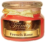 French Rose - Traditional - Soy Jar Candle - 12 oz