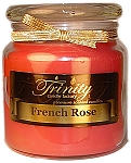 French Rose - Traditional - Soy Jar Candle - 18 oz