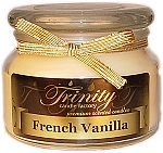 French Vanilla - Traditional - Soy Jar Candle - 12 oz