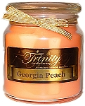 Georgia Peach - Traditional - Soy Jar Candle - 18 oz