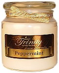 Peppermint - Traditional - Soy Jar Candle - 18 oz