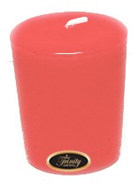 Baby Powder - Pink - Votive Candle - Single
