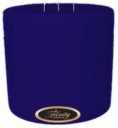 Blueberry Fields - Pillar Candle - 6x6