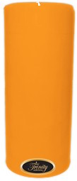Orange Vanilla - Pillar Candle - 4x9