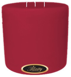 French Rose - Pillar Candle - 6x6