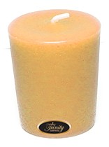 Leather - Votive Candle - Single