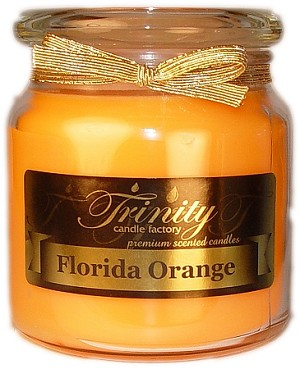 Florida Orange - Traditional - Soy Jar Candle - 18 oz