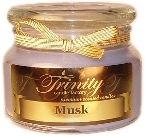 Musk - Traditional - Soy Jar Candle - 12 oz