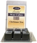 Scented Wax Cube Melts - Christmas Tree