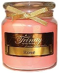 Rose - Traditional - Soy Jar Candle - 18 oz