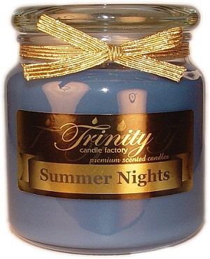 Summer Nights - Traditional - Soy Jar Candle - 18 oz