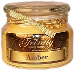 Amber - Traditional - Soy Jar Candle - 12 oz