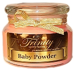 Baby Powder - Pink - Traditional - Soy Jar Candle - 12 oz