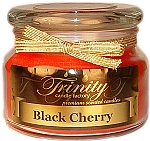 Black Cherry - Traditional - Soy Jar Candle - 12 oz