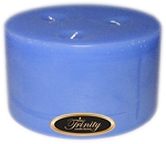 Baby Powder - Blue - Pillar Candle - 6x3