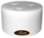 Fresh Linen - Pillar Candle - 6x3