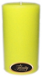 Lemon Chiffon - Pillar Candle - 3x6