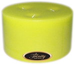 Lemon Chiffon - Pillar Candle - 6x3