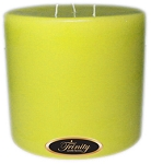 Lemon Chiffon - Pillar Candle - 6x6