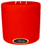 Pumpkin Pie - Pillar Candle - 6x6
