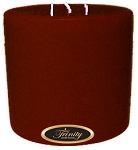 Santa's Surprise - Pillar Candle - 6x6