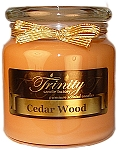 Cedar Wood - Traditional - Soy Jar Candle - 18 oz