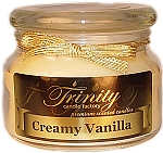 Creamy Vanilla - Traditional - Soy Jar Candle - 12 oz
