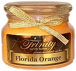 Florida Orange - Traditional - Soy Jar Candle - 12 oz