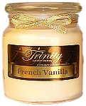 French Vanilla - Traditional - Soy Jar Candle - 18 oz
