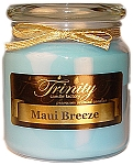 Maui Breeze - Traditional - Soy Jar Candle - 18 oz