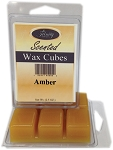 Amber - Scented Wax Cube Melts - 3.25 oz.