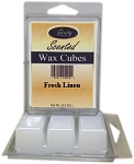 Fresh Linen - Scented Wax Cube Melts - 3.25 oz.