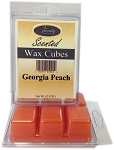 Georgia Peach - Scented Wax Cube Melts - 3.25 oz.