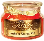 Santa's Surprise - Traditional - Soy Jar Candle - 12 oz