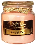 Sweet Pea - Traditional - Soy Jar Candle - 18 oz