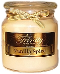 Vanilla Spice - Traditional - Soy Jar Candle - 18 oz