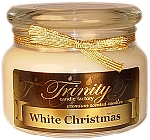 White Christmas - Traditional - Soy Jar Candle - 12 oz