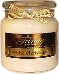 White Christmas - Traditional - Soy Jar Candle - 18 oz