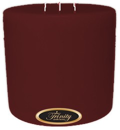 Mulberry - Pillar Candle - 6x6