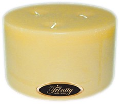 Almond Bark - Pillar Candle - 6x3