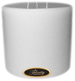 White Christmas - Pillar Candle - 6x6
