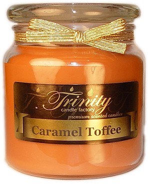 Caramel Toffee - Traditional - Soy Jar Candle - 18 oz