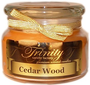 Cedar Wood - Traditional - Soy Jar Candle - 12 oz