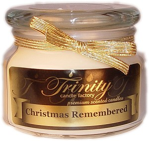 Christmas Remembered - Traditional - Soy Jar Candle - 12 oz