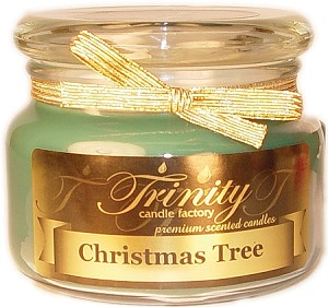 Christmas Tree - Traditional - Soy Jar Candle - 12 oz